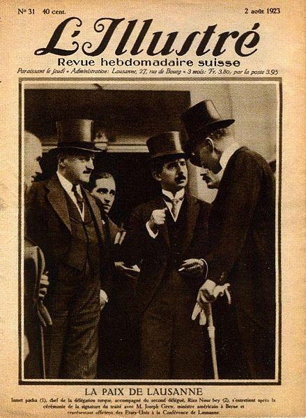 Lozan Antlaşması - 24 Temmuz 1923