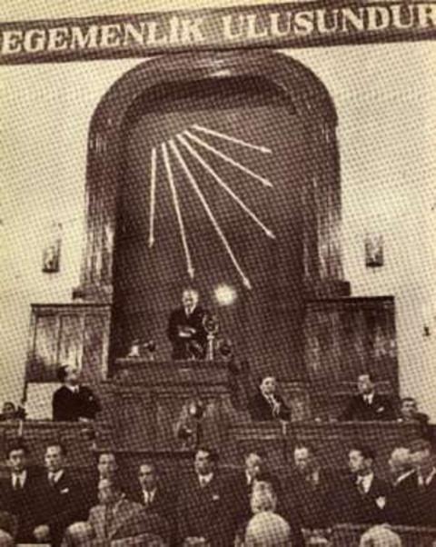 1924  Teşkilât-ı Esasîye Kanunu