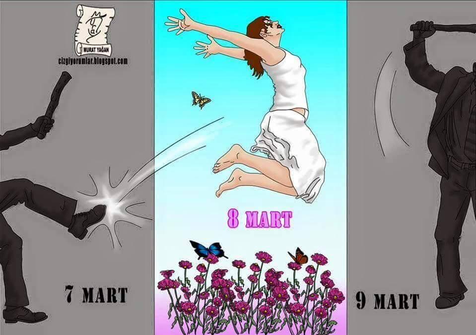 8 Mart Kad�nlar g�n� Kutlu olsun