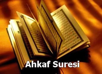 AHK�F Suresi Latin Harfli Okunu�u ve T�rk�e Meali