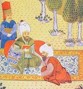 Ali Kuşçu, Fatih Sultan Mehmed'in huzurunda