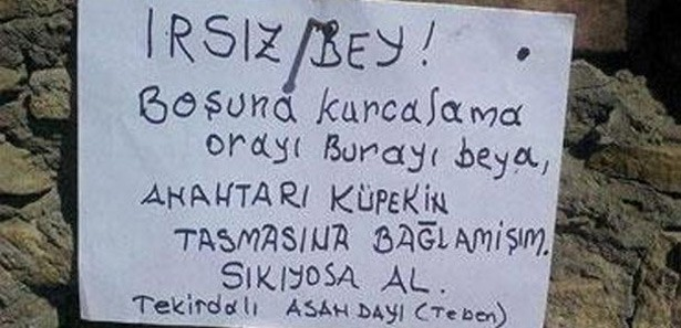 Trakyal�'n�n H�rs�za Mesaj�