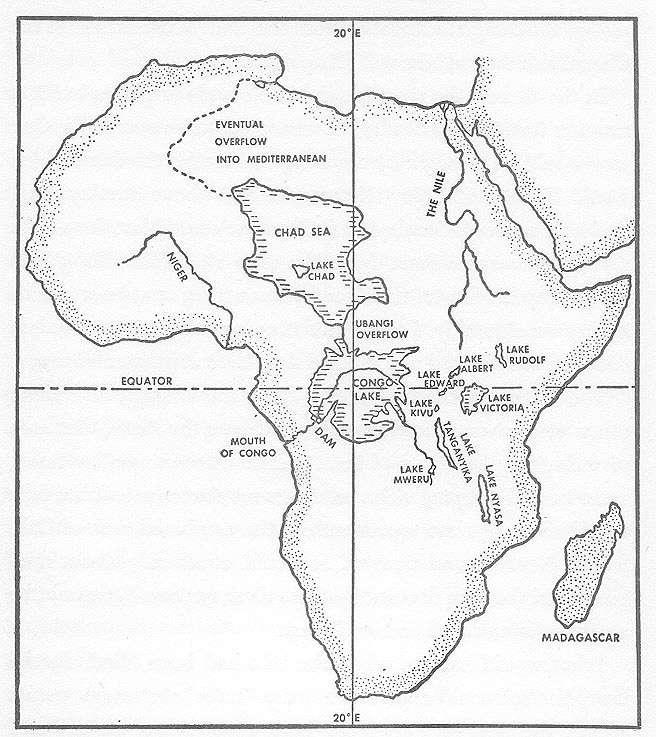 Akdeniz'in sularının Afrika içlerine aktılmasıyla kıtanın ortasında iki büyük göl oluşacaktı