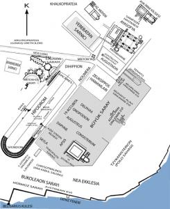 Büyük Saray ve Çevresindeki Yapılar