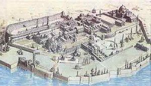 Büyük  Saray'ın Temsili Resmi