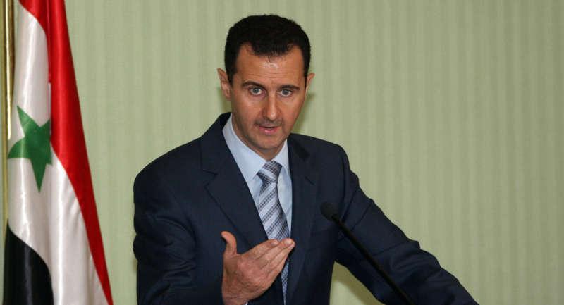 """Be�ar Esad: """"M�ltecilerden Endi�eleniyorsan�z Ter�ristleri Desteklemeyi B�rak�n"""""""