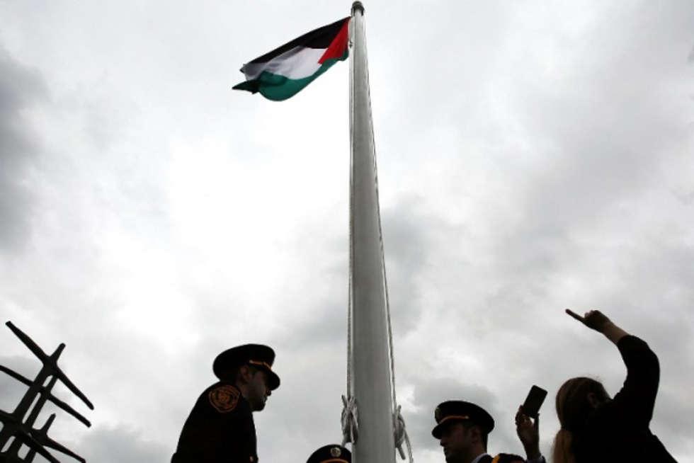 Filistin Bayra�� BM'de Dalgalan�yor