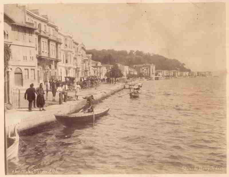 Büyükdere Rıhtımı -1895