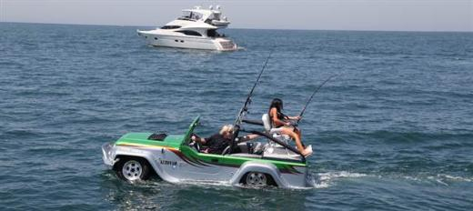 Hem Karada Hem Suda Giden Araç - Water Car