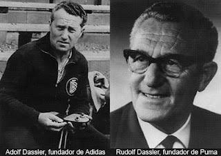 Adolf ve Rudolf Dassler Kardeşler