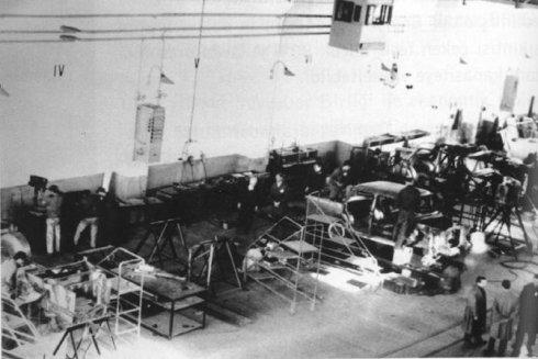 Eskişehirdeki Devrim Arabaları Fabrikası