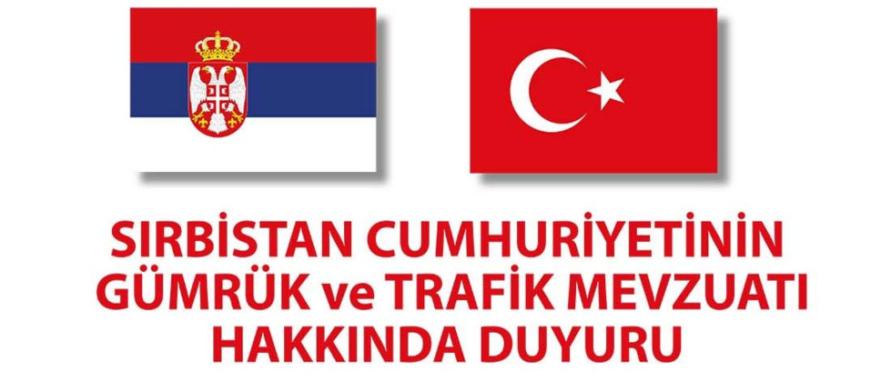 Sırbistan'a Dikkat - Büyükelçilik Duyurusu 16.06.2015