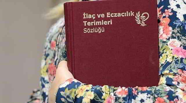 Türk Dil Kurumu'ndan Eczacılık Sözlüğü