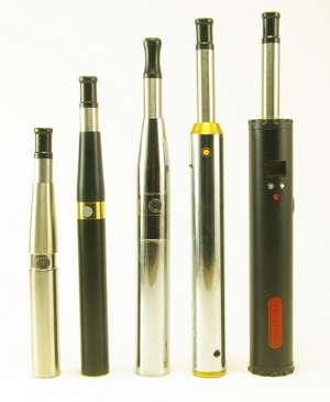 Farklı modellerde birkaç elektronik sigara