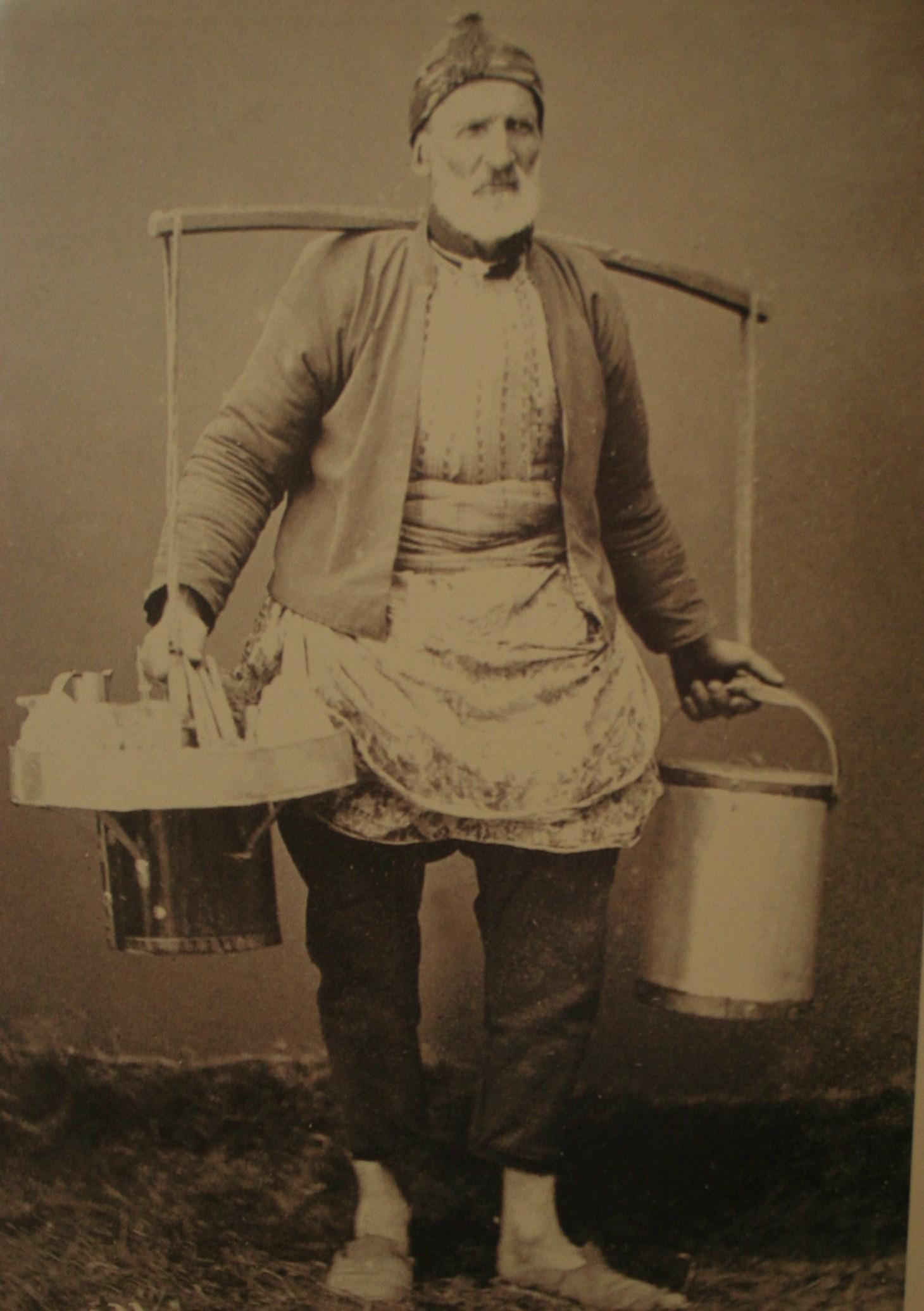 Eski İstanbul dondurmacısı