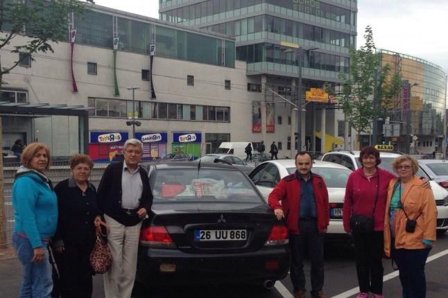 Eskişehir Plakalı Araçlarıyla Avrupa Turuna Çıktılar