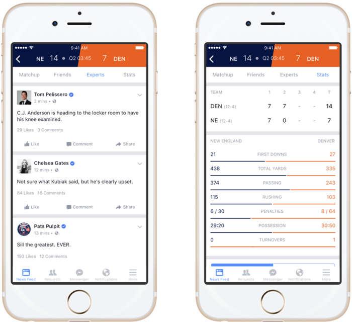 Facebook�tan Ger�ek Zamanl� Spor Platformu - Sports Stadium