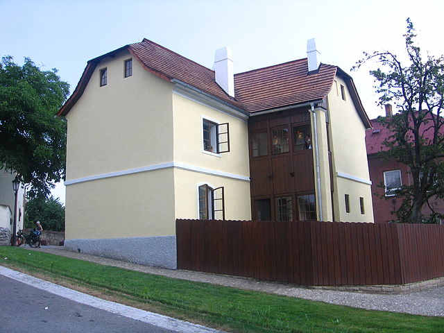 Sigmund Freud'un doğduğu ev - Príbor