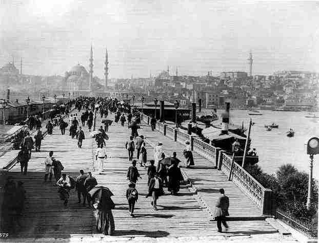 Galata Köprüsü - 1898