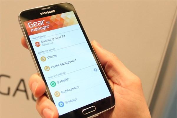 Gear Fit Manager programı Samsung`un yeni nesil akıllı kol saatleriyle iletişim kurmak için kullanılıyor.<br /> <br />