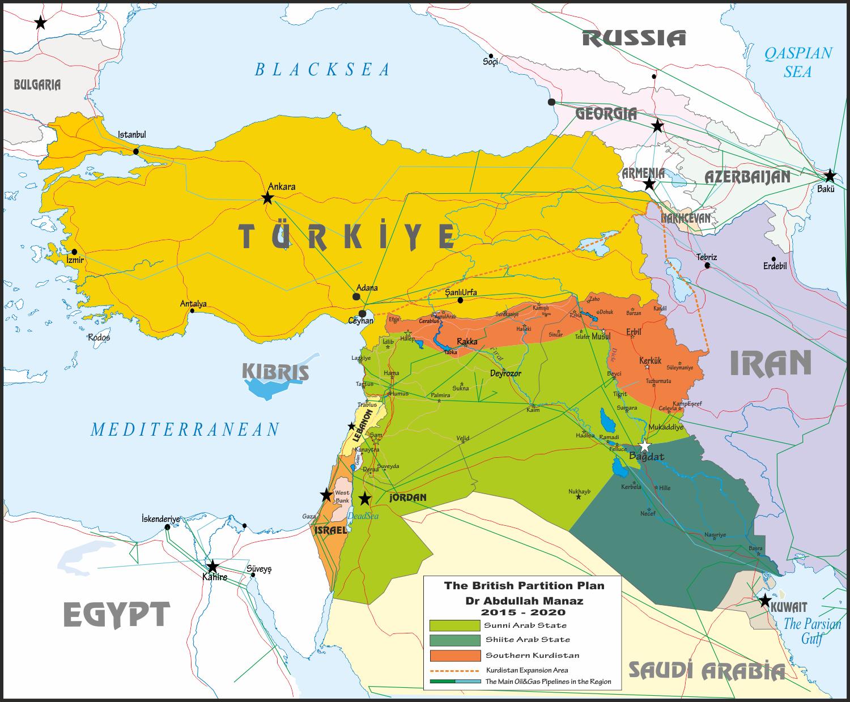 Ortadoğu  kime/kimlere  göre  doğunun  ortasındadır?