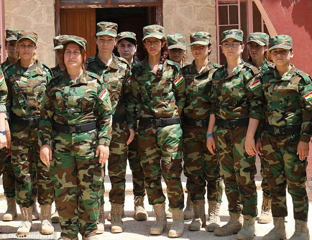 Güneşin Kızları - Ezidi Kadınlarından Oluşan Silahlı Birlik
