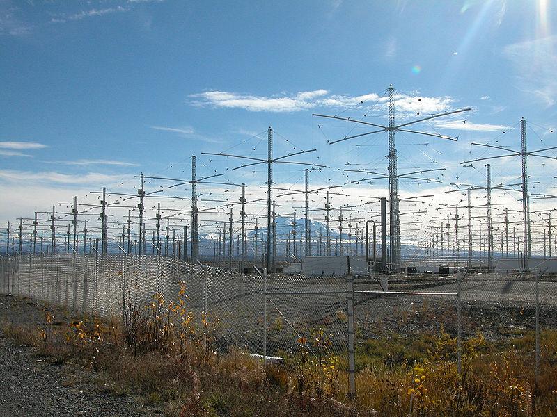 Alaska'daki Haarp Antenleri