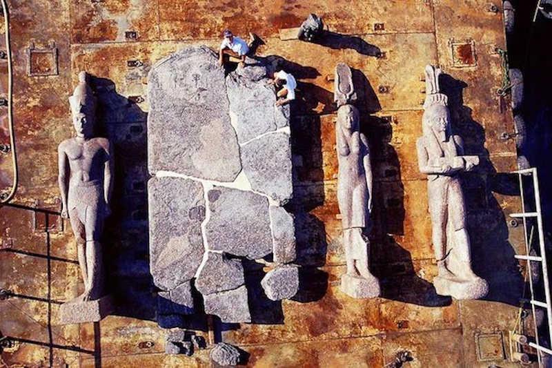 Heracleion - 1200 Yıl Sonra Bulunan Kayıp Mısır Şehri