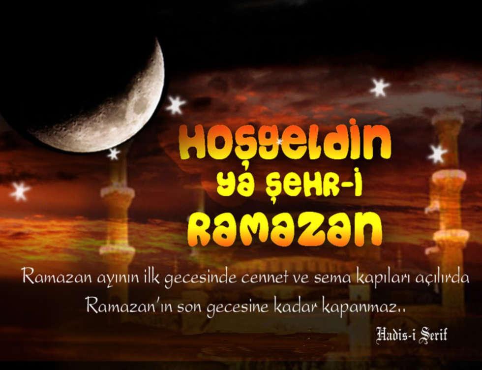 Ho�geldin Ya �ehr-i Ramazan