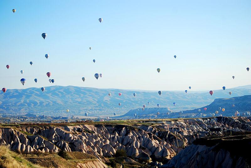 Kapadokya'da Balonlar