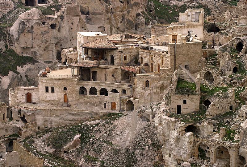Kapadokya'da mimari doku co�rafi mekanla b�t�nle�mi�...