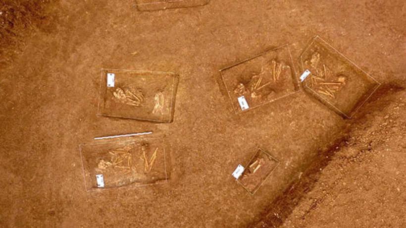 Kastamonu'da 24 Kişinin Gömülü Olduğu 3500 Yıllık Anıt Mezar Bulundu