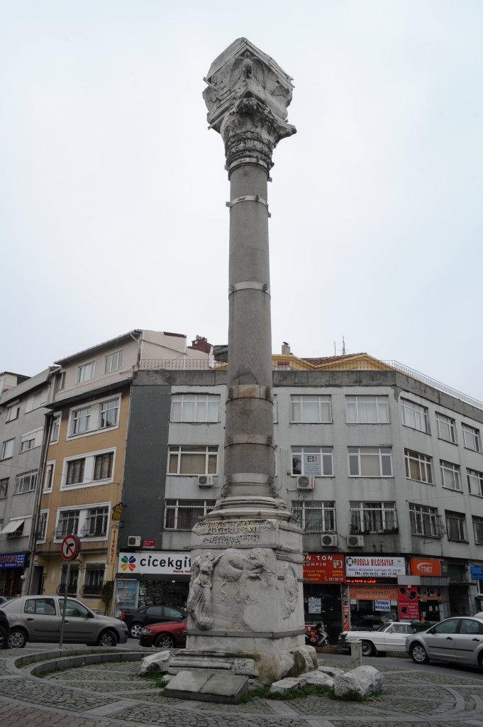 İstanbul Tarihi - Kıztaşı ( Marcianus Sütunu )