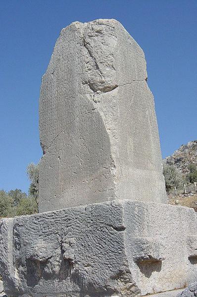 Ksantos'taki Likya Yazıtı