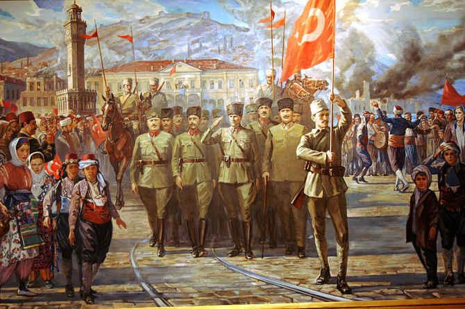 Türk Ordusunun İzmir'e girişi (9 Eylül 1922)