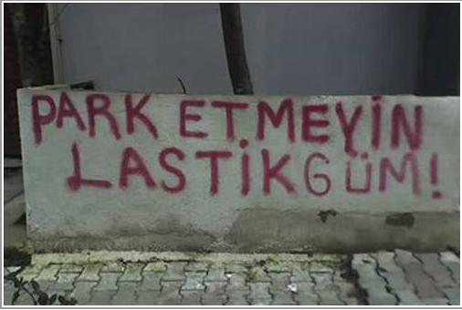 Park Yerinizmi Kapildi Caresi bu!!
