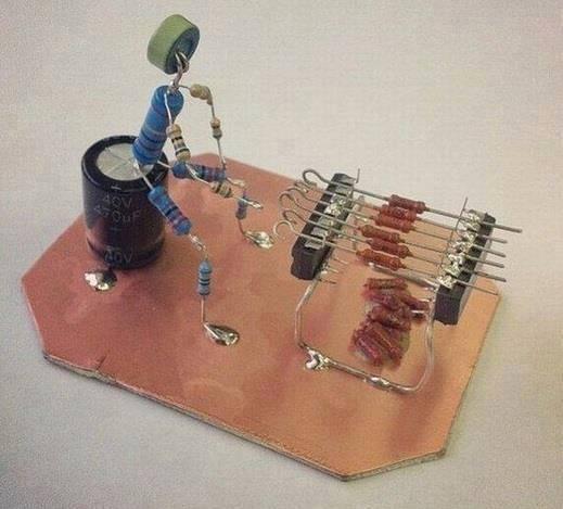 Elektronikçinin Mangal Keyfi