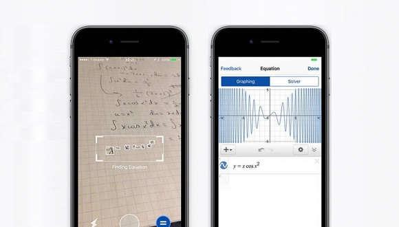Matematik Problemini Telefonunuza Gösterin Uygulama Çözsün