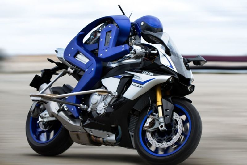 Yamaha'dan Sürücüsüz  Motosiklet - Motobot