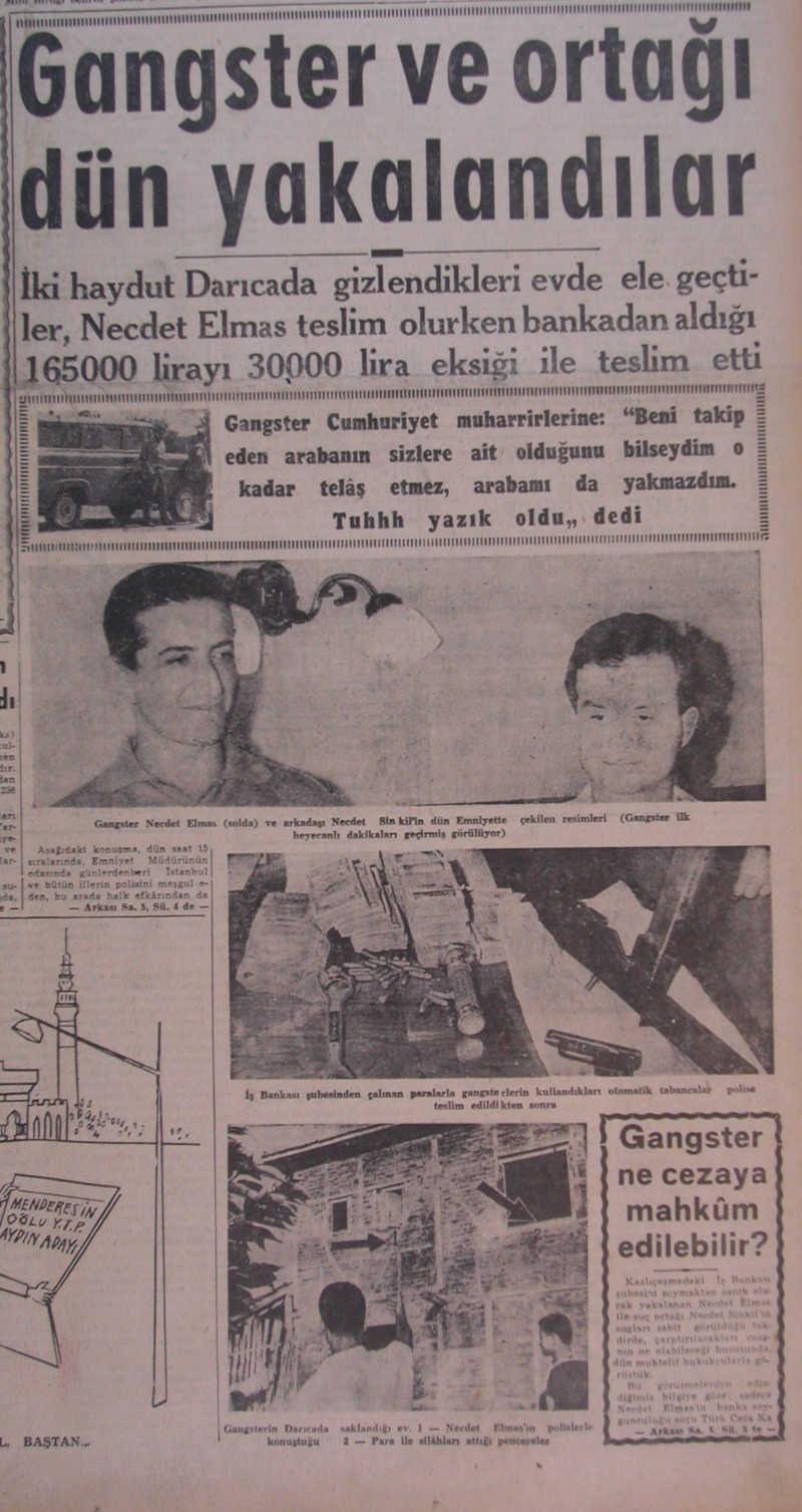 Türkiyenin İlk Gangsteri - Necdet Elmas