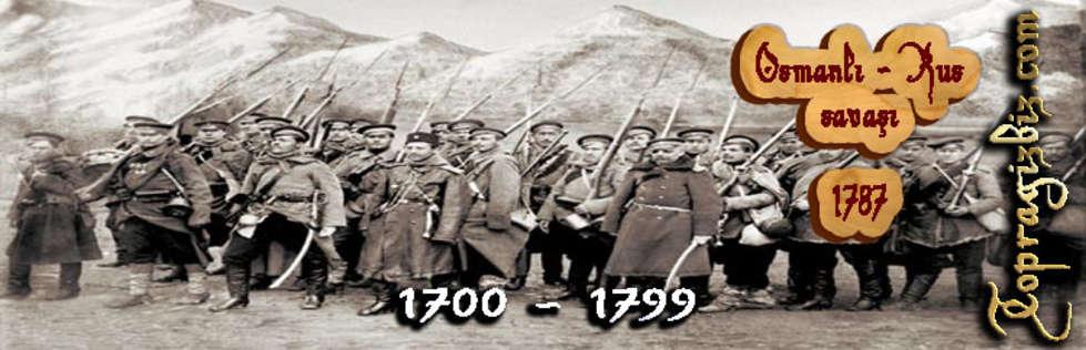 Osmanl� �mparatorlu�u Kronolojisi 1700 - 1799