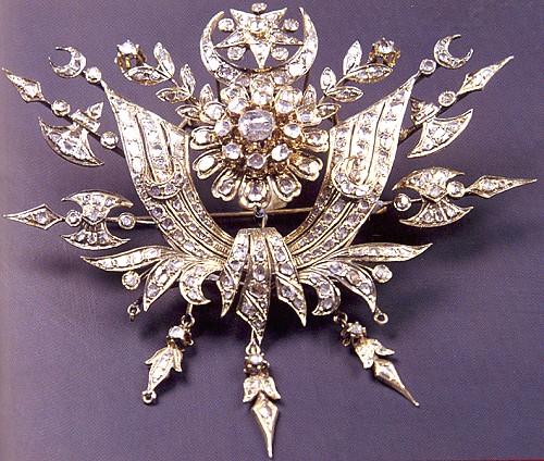 Osmanlı Arması Kompozisyonlu Broş