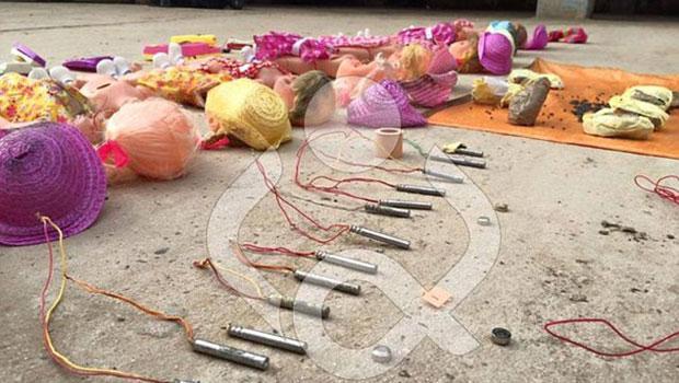 Oyuncak Bebeklerin ��ine Tuzaklanan Bombalar �mha Edildi