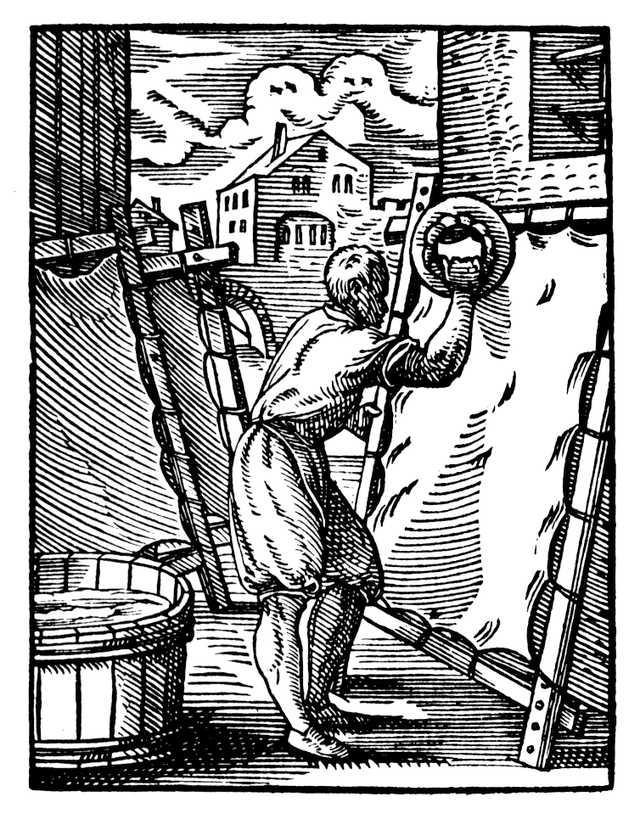 Parşömen hazırlanışı - Almanya 1568