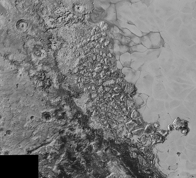 Plüton'un Benzersiz Jeolojisi