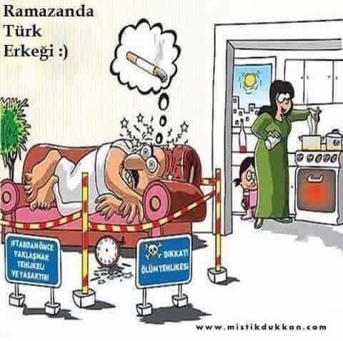 Ramazanda T�rk erke�i