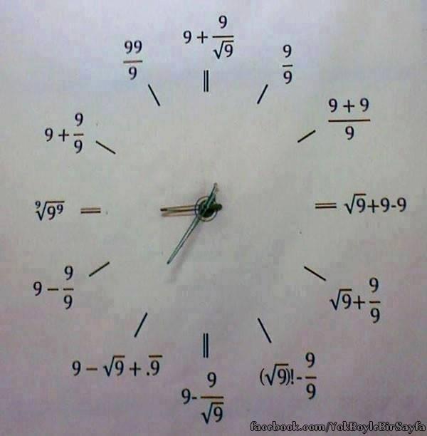 Matematik�inin Saati