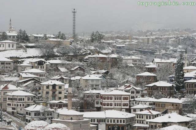 Safranbolu'dan bir Kış Manzarası