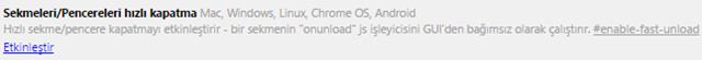 8 Ad�mda Chrome Taray�c�s�n� H�zland�rmak