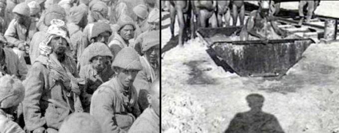 Seydibe�ir Usare  Esir Kamp�nda K�r Edilen 15 Bin Osmanl� Askeri